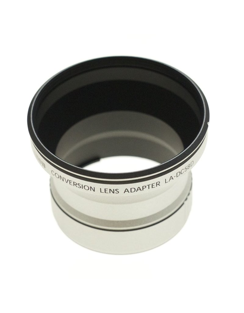 Canon Canon LA-DC58D 58mm adapter for G6.