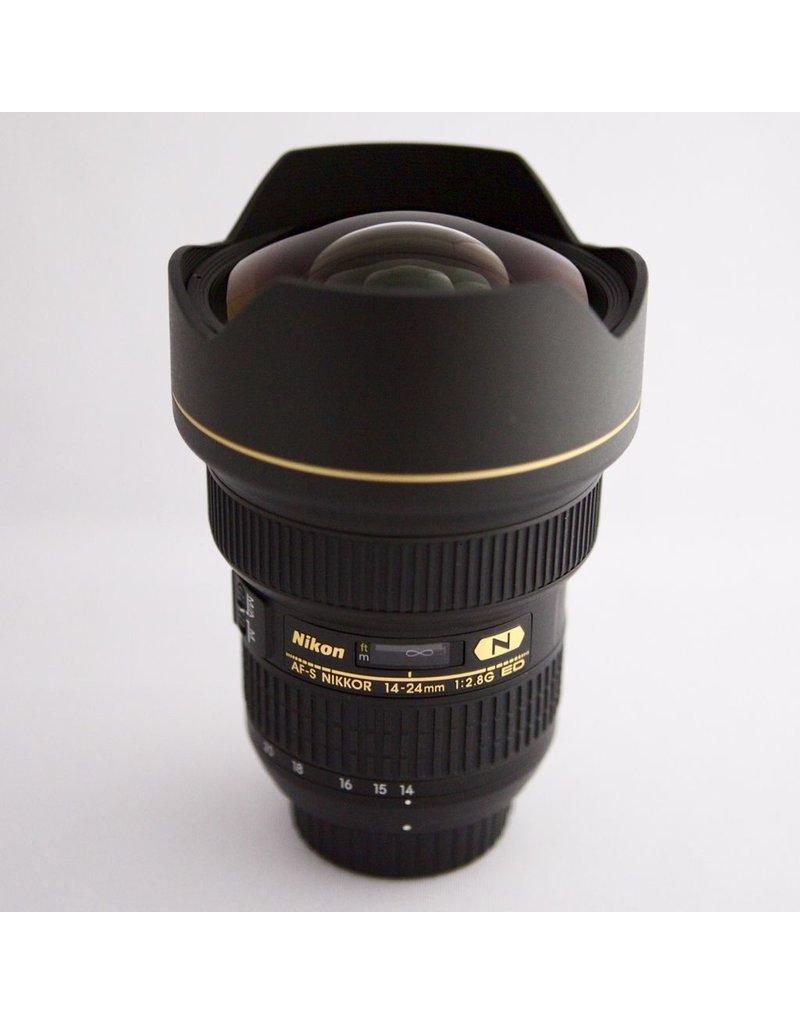 RENTAL Nikon 14-24mm f2.8G ED AF-S Nikkor rental.