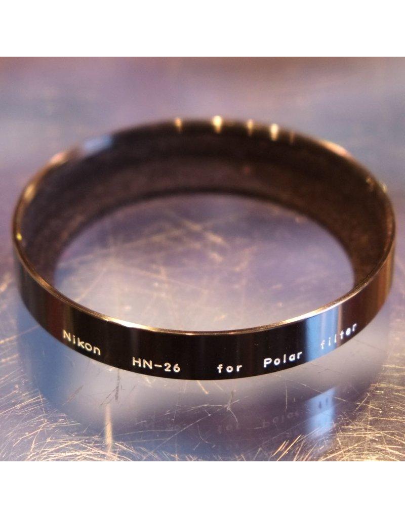 Nikon Nikon HN-26 lens hood for Nikon polarizing filter.