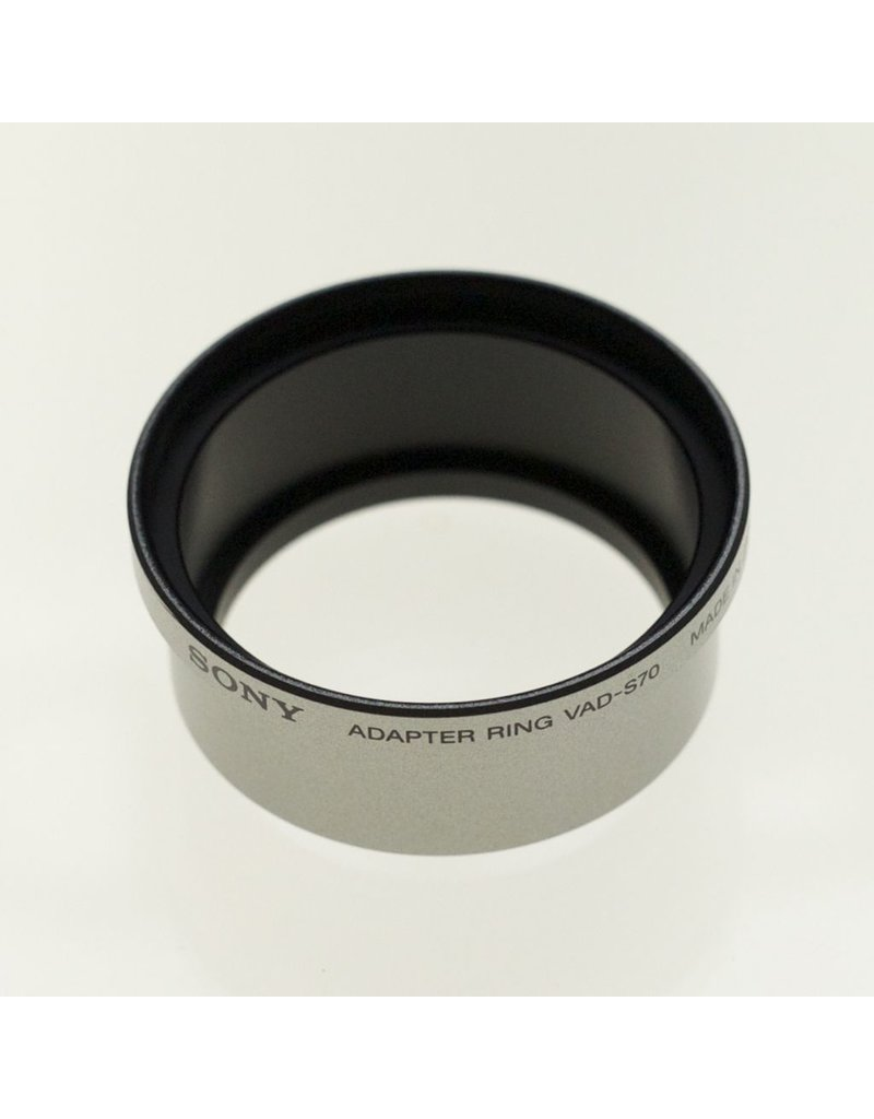 Sony Sony VAD-S70 adapter ring for Cybershot & Mavica.