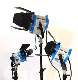RENTAL Arri 3-light kit (1100W total) rental.