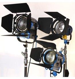 RENTAL Arri 3-light kit (2650W total) rental.