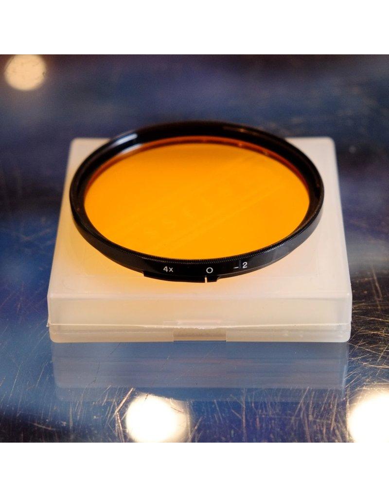 Hasselblad Hasselblad Orange filter for B77 bayonet filter mount.