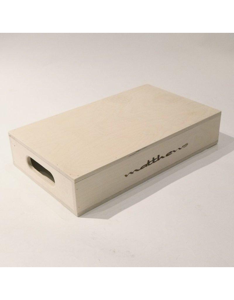 "Matthews Half Apple Box (20x12x4"") Rental."
