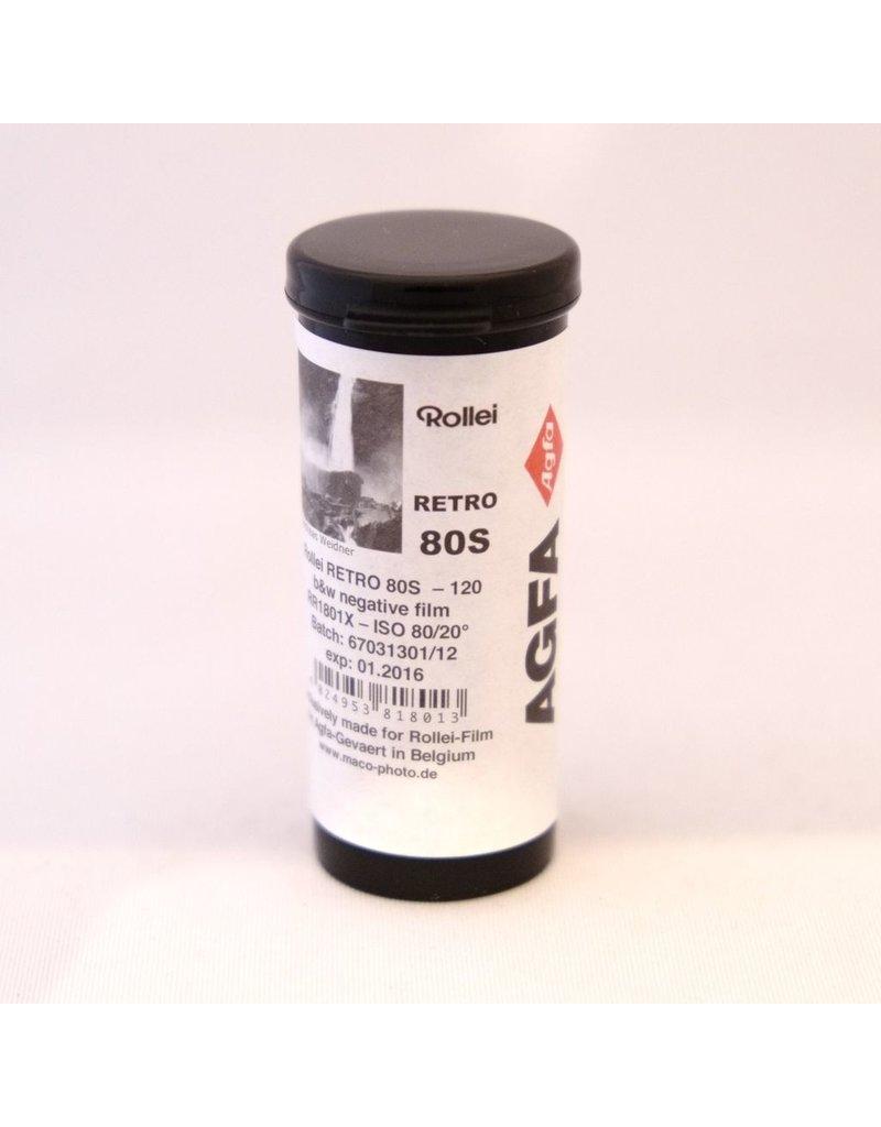 Rollei Rollei Retro 80s black and white film. 120. - Camera Traders