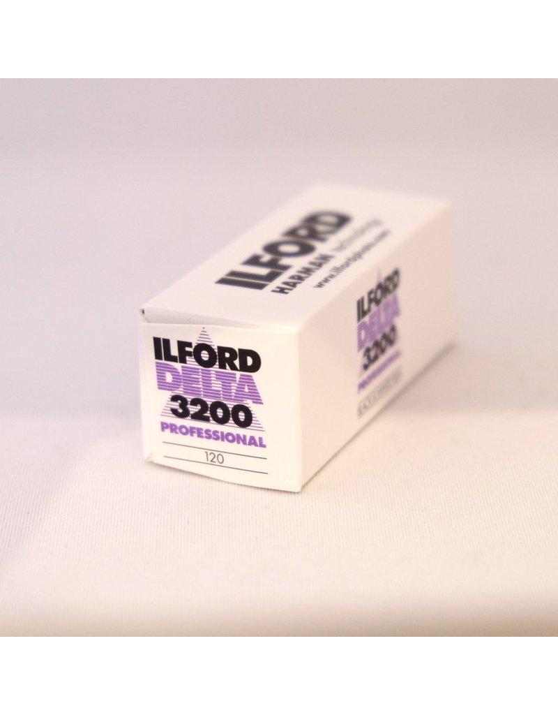 Ilford Ilford Delta 3200 black and white film. 120.