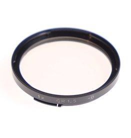 Hasselblad Hasselblad CR1.5 colour correction filter for B50 bayonet filter mount.