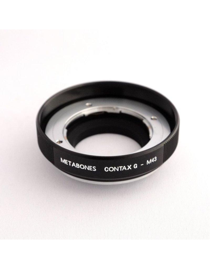 Metabones Metabones Contax G-Micro Four Thirds adapter