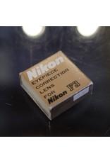 Nikon Nikon F3-type threaded eyepiece diopter, -2.