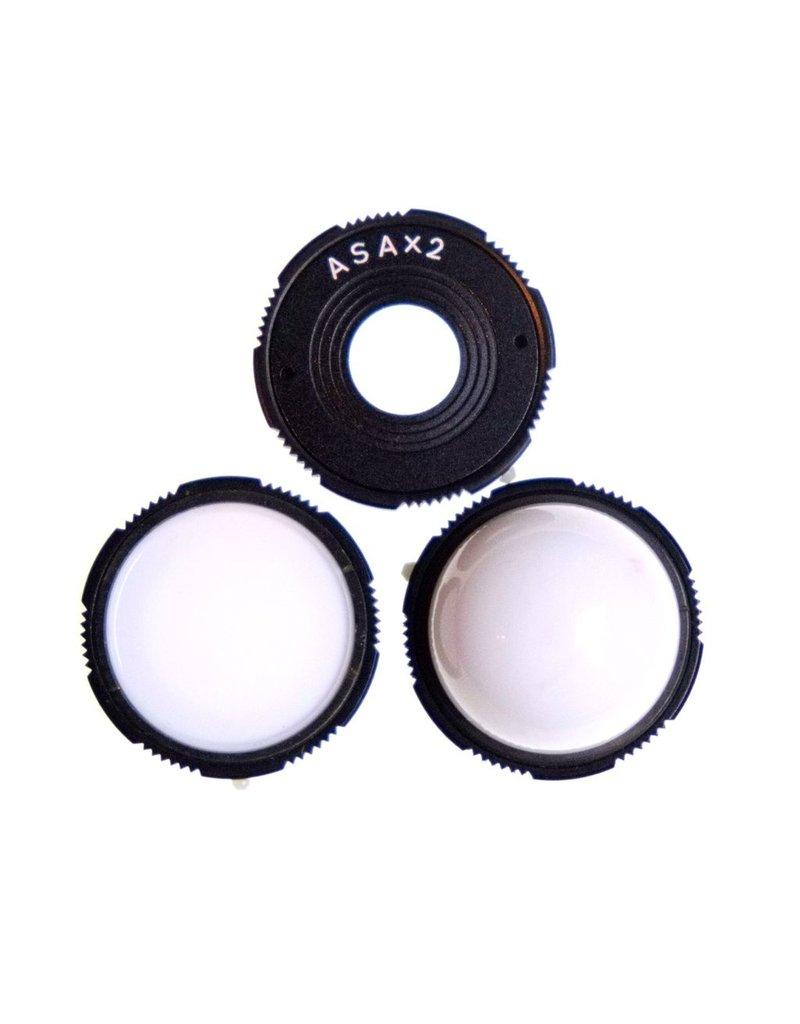 Sekonic Diffuser disc set for Sekonic L-256 light meter.