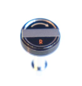 Pentax Rewind knob and spindle for Pentax Spotmatic S2/H2.
