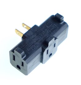 RENTAL AC tri-tap adapter.