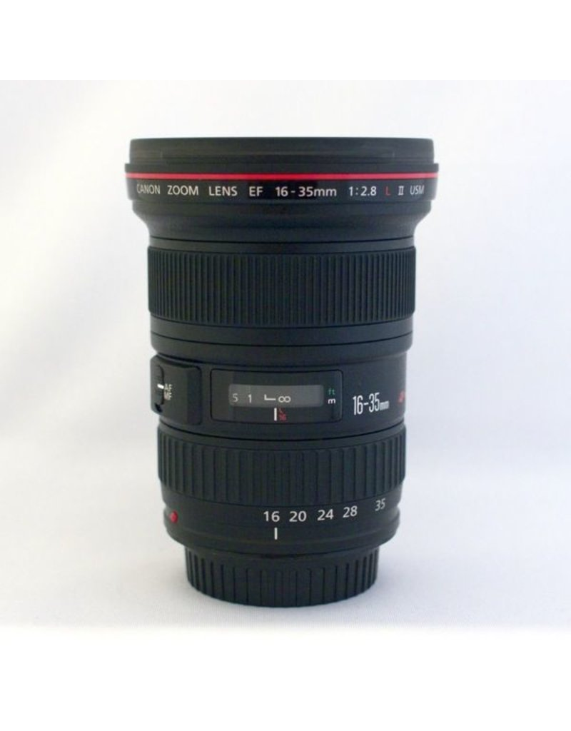 RENTAL Canon EF 16-35mm f2.8L II rental.