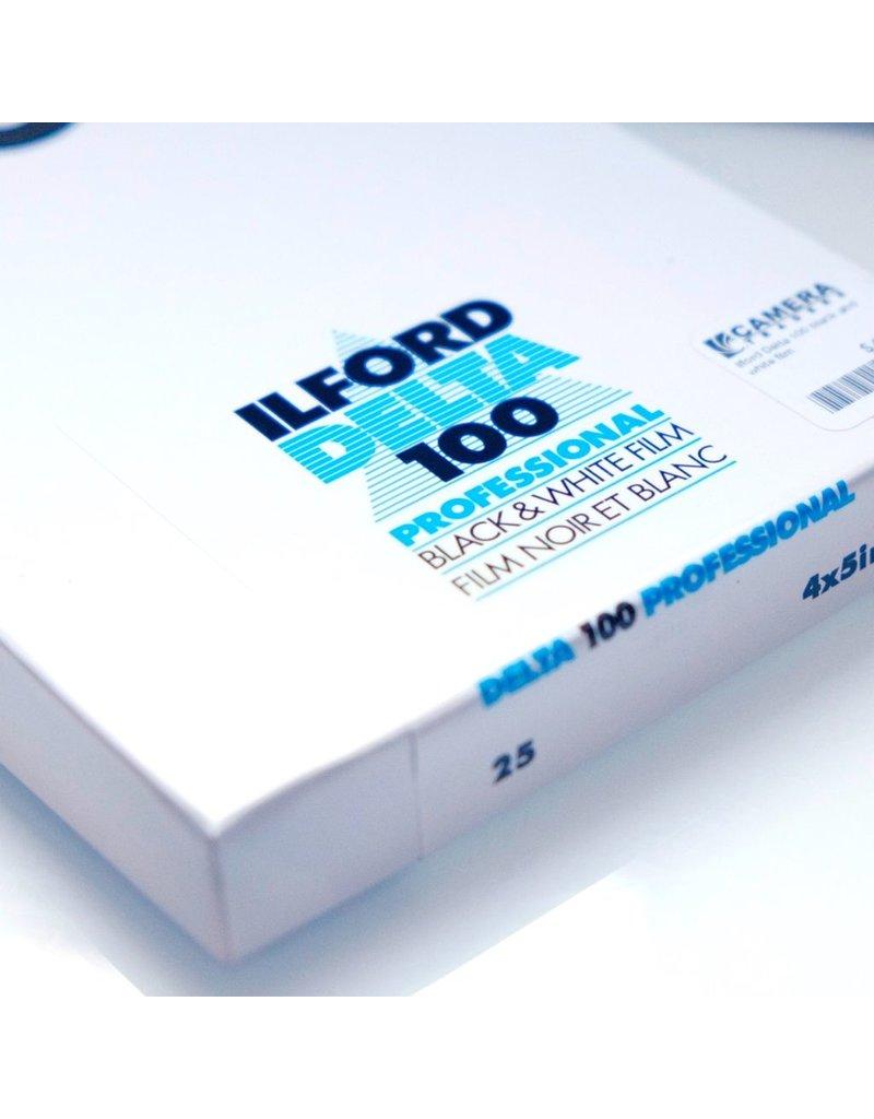 Ilford Ilford Delta 100 black and white film (4x5)