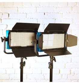 RENTAL Dracast 2x 500W LED panel outfit rental.