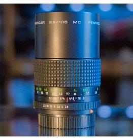 Praktica Pentacon Prakticar 135mm f2.8 MC.