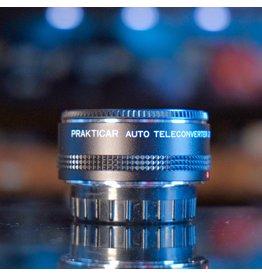 Praktica Prakticar 2X Automatic Teleconverter Lens.