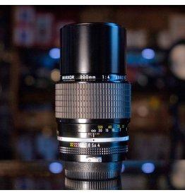 Nikon Nikon 200mm f4 Nikkor (pre-AI)