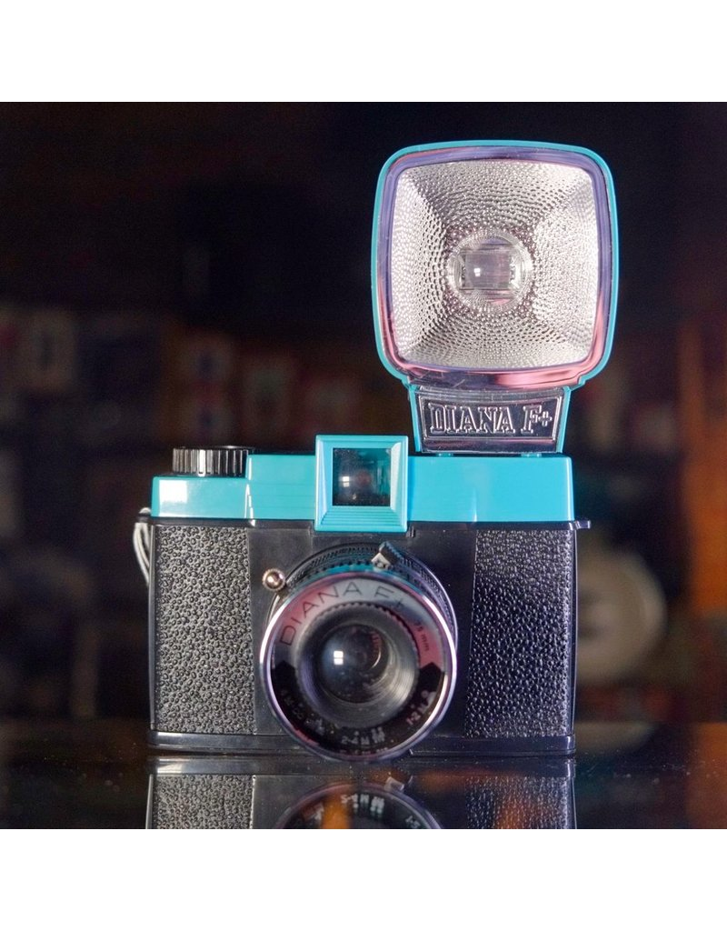 Lomography Diana F+ camera complete outfit.