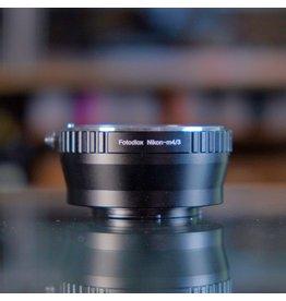 Fotodiox Fotodiox lens adapter Nikon F-Micro Four Thirds