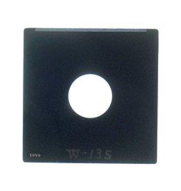 Toyo Toyo 11x11cm lensboard (Copal 0)