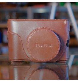 Fujifilm Fujifilm LC-X100 leather case for X100/X100s.