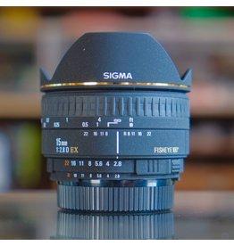 Sigma Sigma EX 15mm f2.8 D Fisheye.