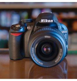 Nikon Nikon D3100 DSLR w/ 18-55mm f3.5-5.6G VR DX Nikkor.