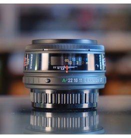 Pentax SMC Pentax-F 50mm f1.7.