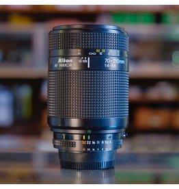 Nikon Nikon 70-210mm f4-5.6 AF Nikkor.