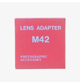 Pentax M42-K adapter.