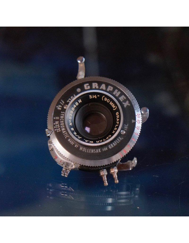 "Graflex Graflex Optar 3 1/2"" f6.8"