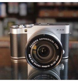 Fujifilm Fujifilm X-A3 w/ 16-50mm f3.5-5.6 OIS II.