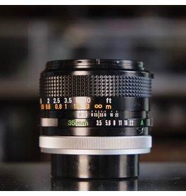 Canon Canon FD 35mm f3.5 S.C.
