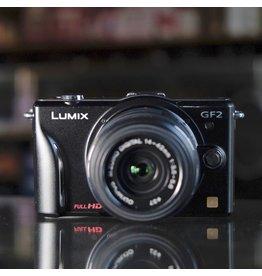 Panasonic Panasonic Lumix GF2 w/ Olympus M.Zuiko Digital 14-42mm.