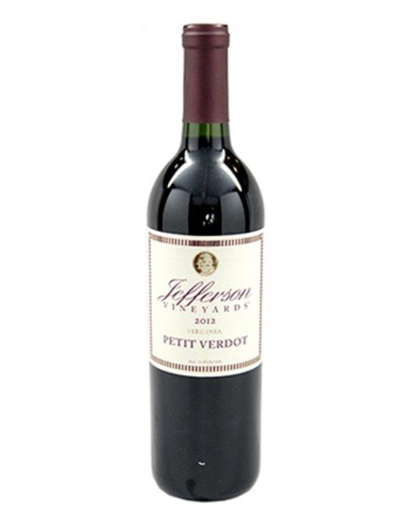 Jefferson Vineyards Jefferson Vineyards Petit Verdot 2014
