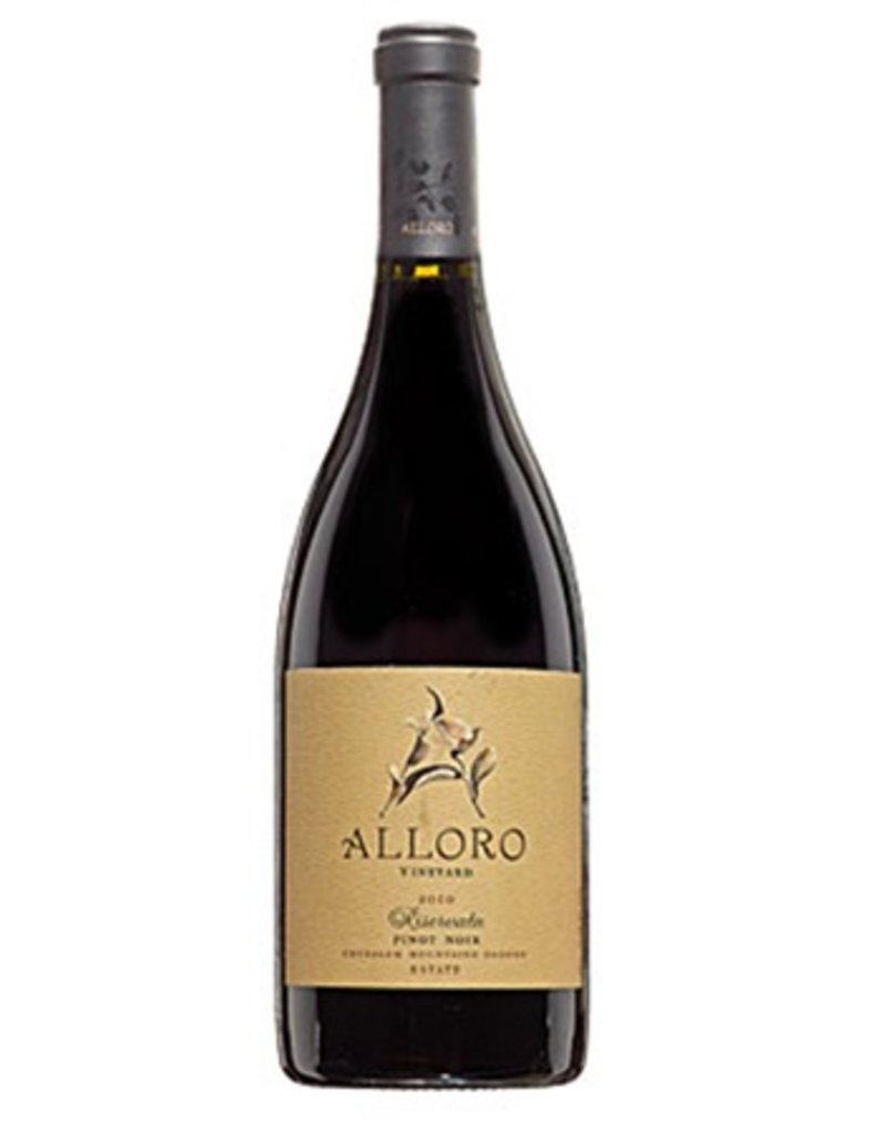 Alloro Alloro Riservata Estate Pinot Noir Willamette Valley 2014