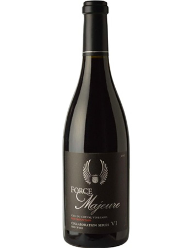Force Majeure Estate Syrah Barrel Auction 2015