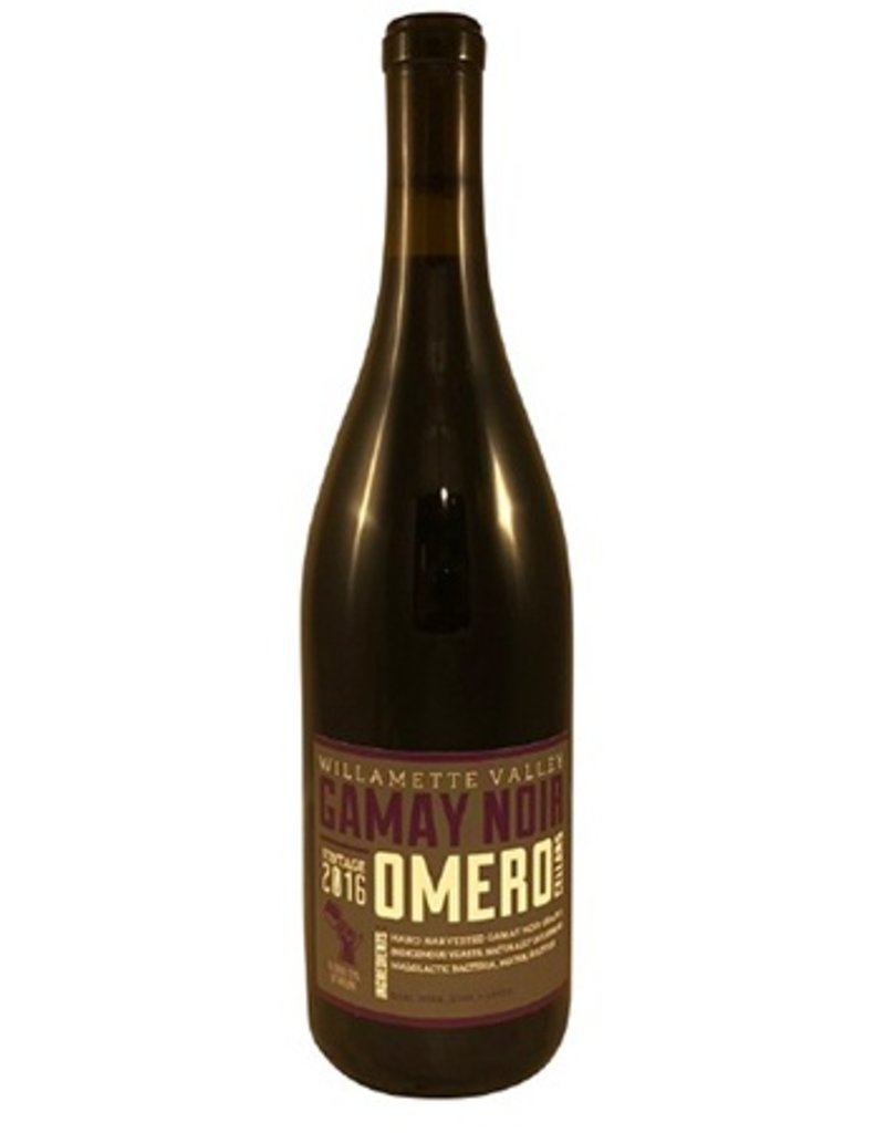 Omero Cellars Gamay Noir Ribbon Ridge 2016