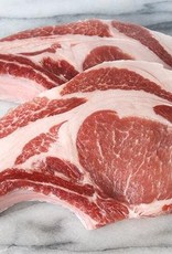 The Organic Butcher Berkshire Pork Chops Two Pack (1-1.5lb/2)