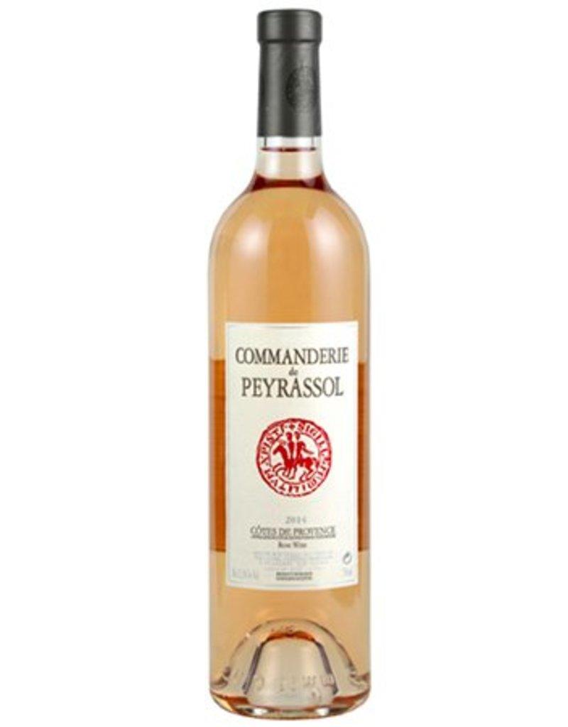 """Chateau Peyrassol Cotes de Provence Rose """"Commanderie"""" 2017 - Pre Arrival"""