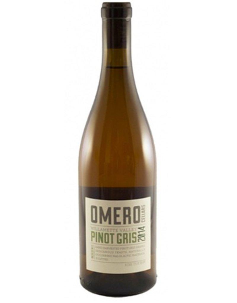 OmeroCellars Pinot Gris Willamette Valley 2016