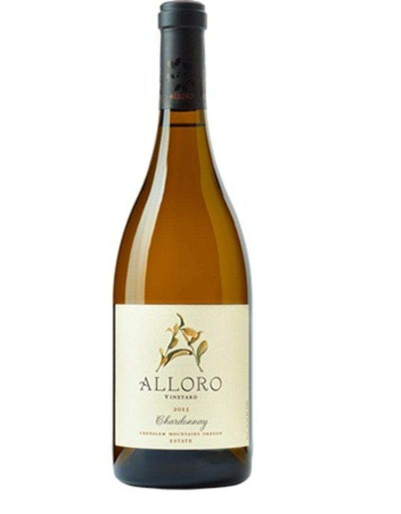 Alloro Chardonnay Chehalem Mountains 2014
