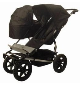 Mountain Buggy Mountain Buggy Duo Carrycot Single- Black