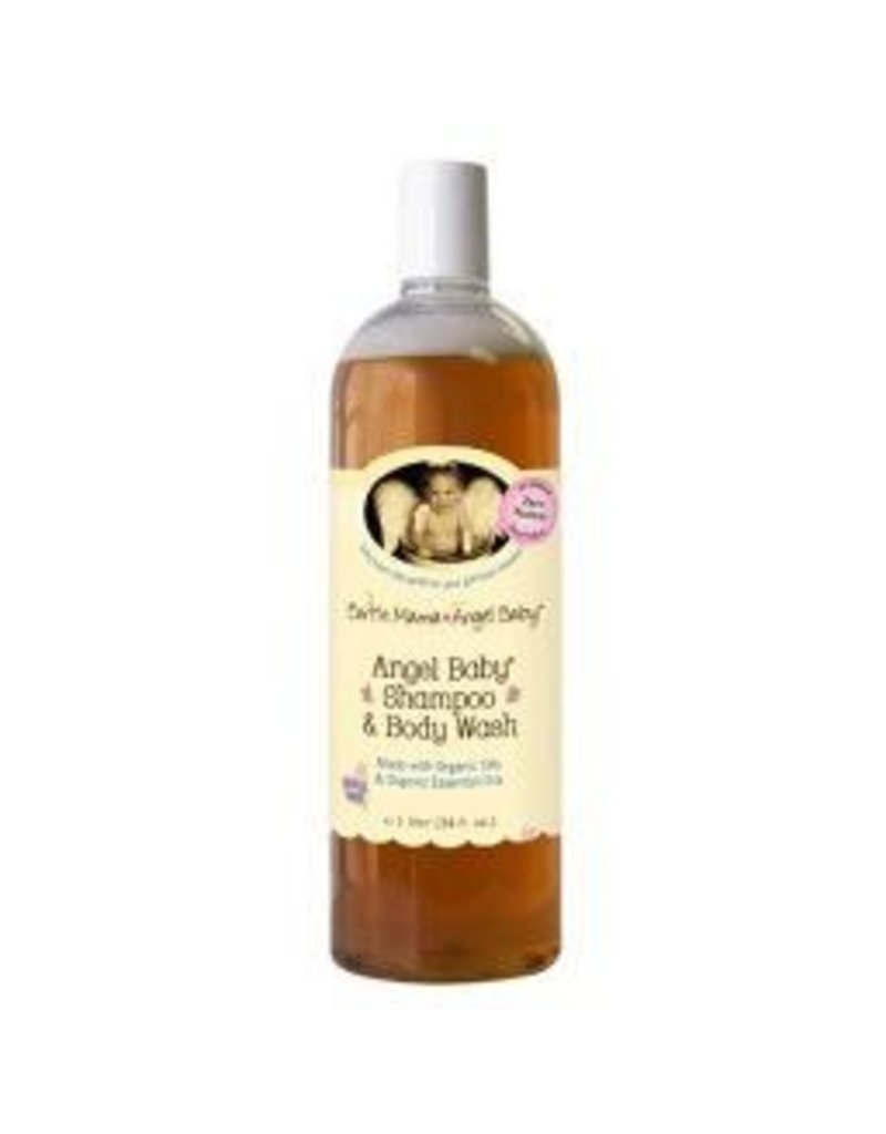 Earth Mama Angel Baby Angel Baby Shampoo and Body Wash 160 ml. (5.3 oz.)