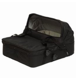ecobaby Mountain Buggy Duo Carrycot Twin  - Black
