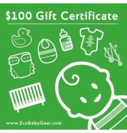 ecobaby Gift Certificate $100