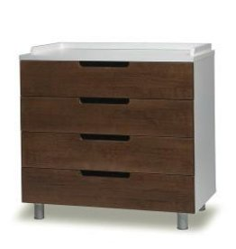 ecobaby Oeuf - Classic 4 Drawer Dresser- Walnut