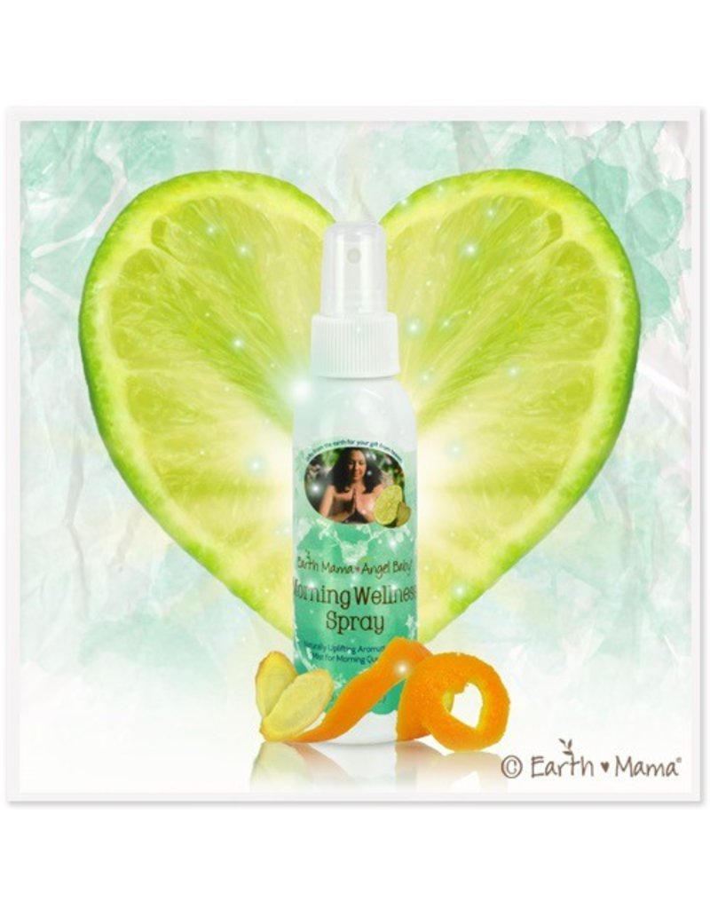 Earth Mama Angel Baby Morning Wellness Spray 120 ml. (4 oz.)