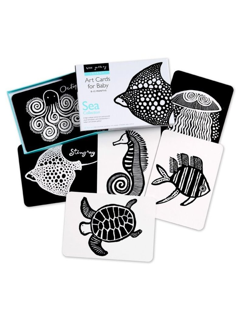 Wee Gallery Wee Gallery - Art Cards - Sea Collection